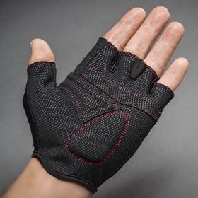 GripGrab Rouleur Gevoerde Halve Vinger Handschoenen Dames, purple